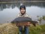 Damian Pawlata. karp 6,20 kg, 68cm
